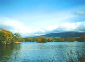 駒ヶ岳と大沼湖